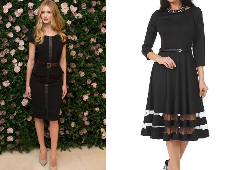 c5a2dd88d016 Κλασικό μαύρο φόρεμα.