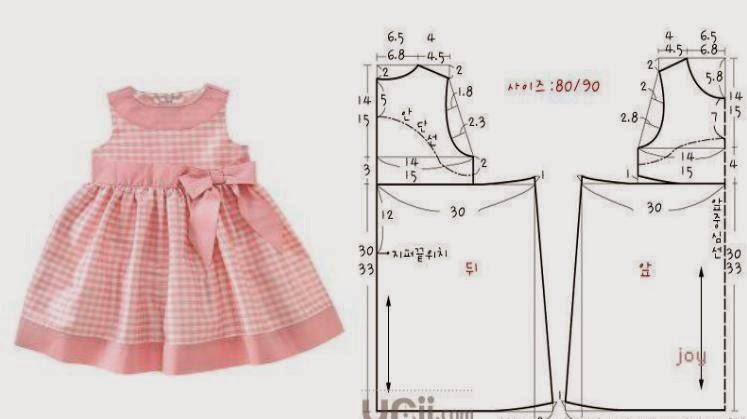 Как для ребенка сшить платье 700