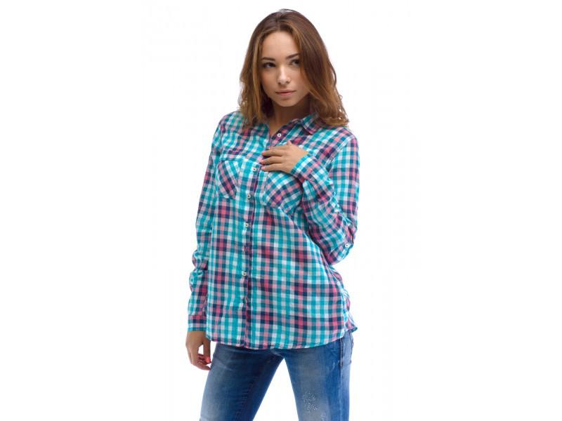 Фотки сорочок у клітинку. Жіночі сорочки в клітину - універсальні і ... 54d9160a5d783