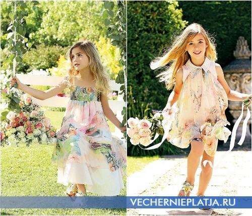 53d8f0c1d0cd Μοντέρνα φορέματα για το παιδί. Καλοκαιρινά φορέματα για κορίτσια ...