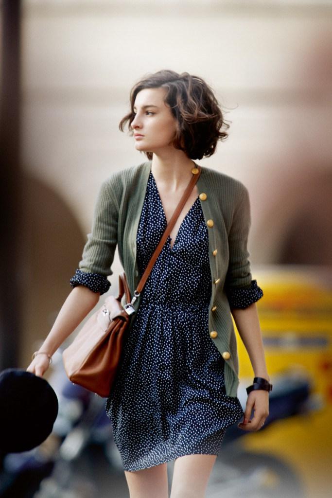 7239146d78a6 Γυναίκες γυναίκες γαλλικού στυλ. Φωτογραφία αστέρια. Γαλλικό στυλ σε ...