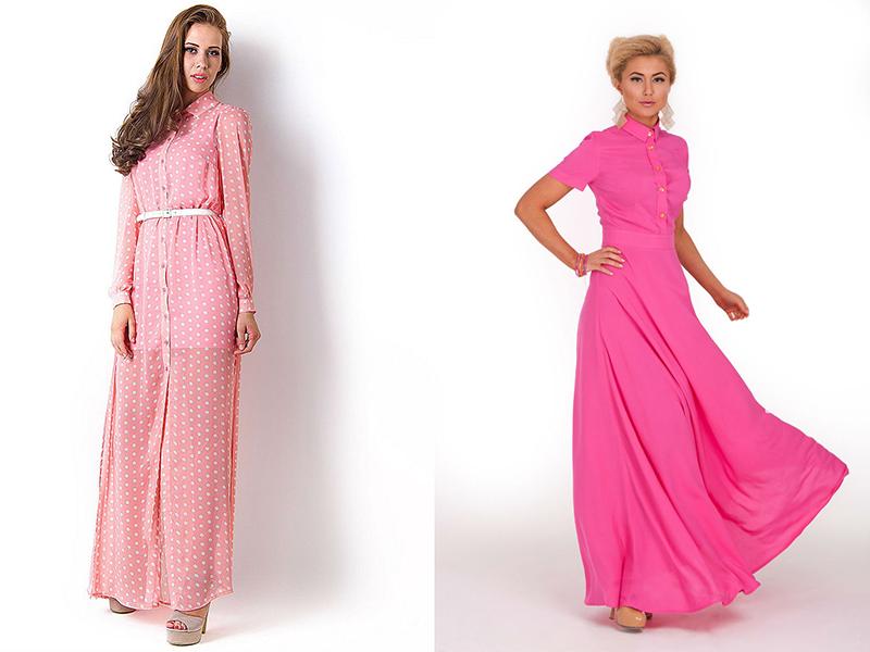 9ccbb109c46 Obrázky růžových šatů. Krátké růžové šaty  tak odlišné a elegantní.