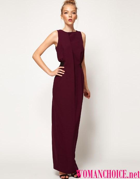 b3d7fc1368f2 Ποιο χρώμα μαλλιών είναι κατάλληλο για μπορντό φόρεμα. Τι αξεσουάρ ...