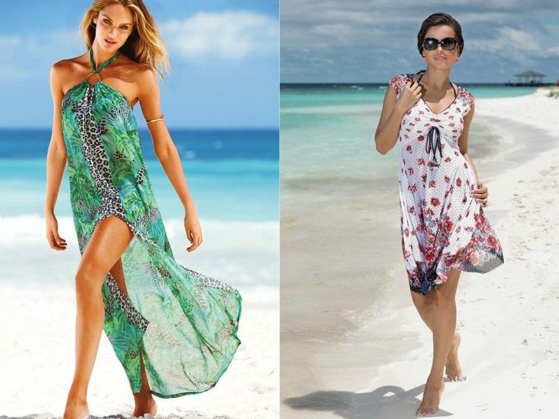 Летние платья на море 198