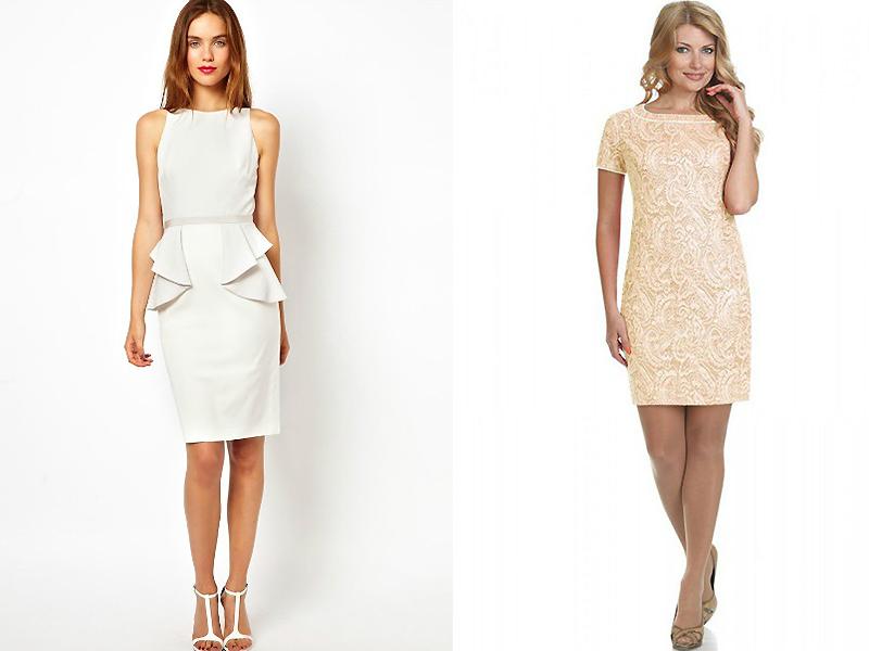 Σύντομη σφικτή φόρμα. Το κοντινό φόρεμα θα τονίσει τη γυναικεία φόρμα. f07a672ecd8