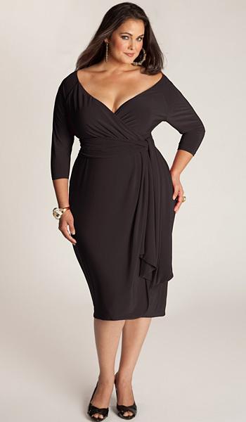 3cf84c7fa0 Koktél ruhák az elhízott nők számára. Koktél ruhák az elhízott nők ...