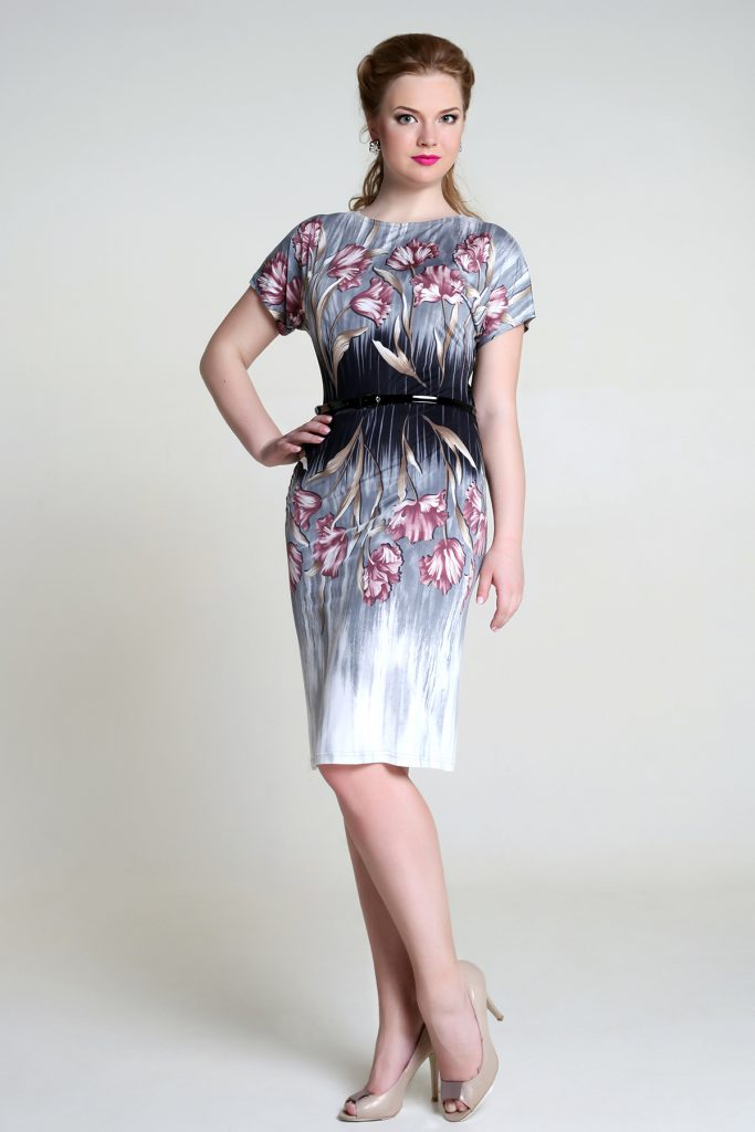 Μοντέρνα φορέματα με εκτύπωση. Λεπτά και ρομαντικά φορεσιά για άνθη fa719fd1f7d