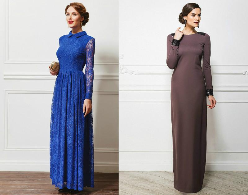 Как сшить длинное платье без рукавов 886