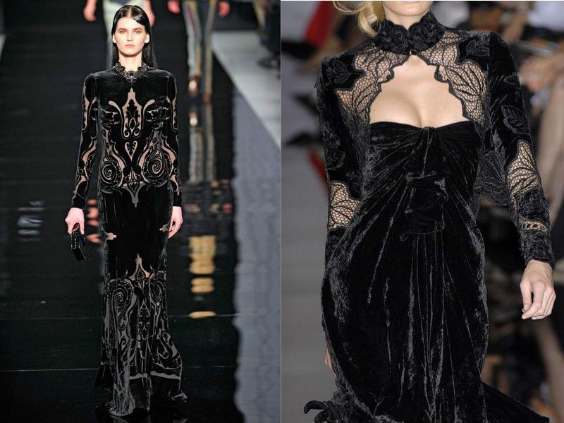 Мереживні довге в підлогу плаття. Чорну мереживну сукню в пів ... 4731137f03632