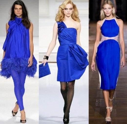 fee2f1570e13 Όσο για τα χρώματα που σχετίζονται με το μπλε φόρεμα αυτή τη σεζόν