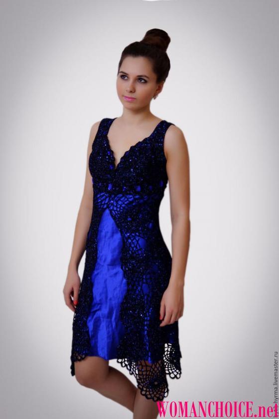 В язані вечірні сукні. Модні тенденції вечірніх нарядів ... 7c57b45ff6fd1